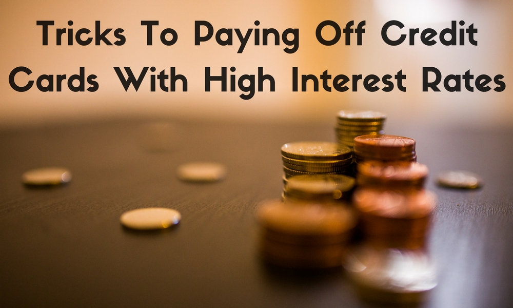 Tricks To Paying Off Credit Cards With High Interest Rates - Go - how to pay off credit card