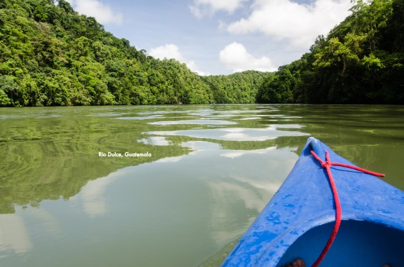 Kayaking Down the Rio Dulce