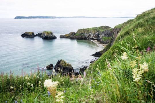 Causeway Coast in N. Ireland (Over yonder way be Scotland)