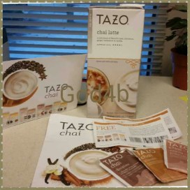 Tazo goodies from smiley360.com