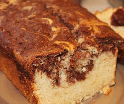 Paleo Light Marble Pound Cake
