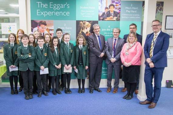 MP answers questions at careers week News Godalming Messenger