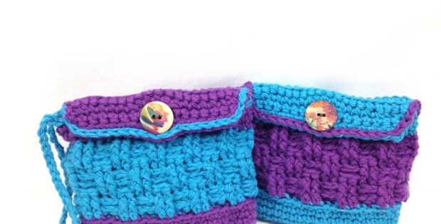 Little Button Bag, Free Crochet Pattern