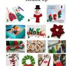 Christmas Decorations - Free Crochet Pattern Round Up