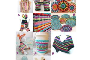 Scrap Yarn Projects - Free Crochet Pattern Round Up