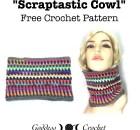 Scraptastic Cowl - Free Crochet Pattern