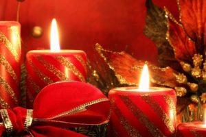 Bloklys adventslys julebelysning lagersalg