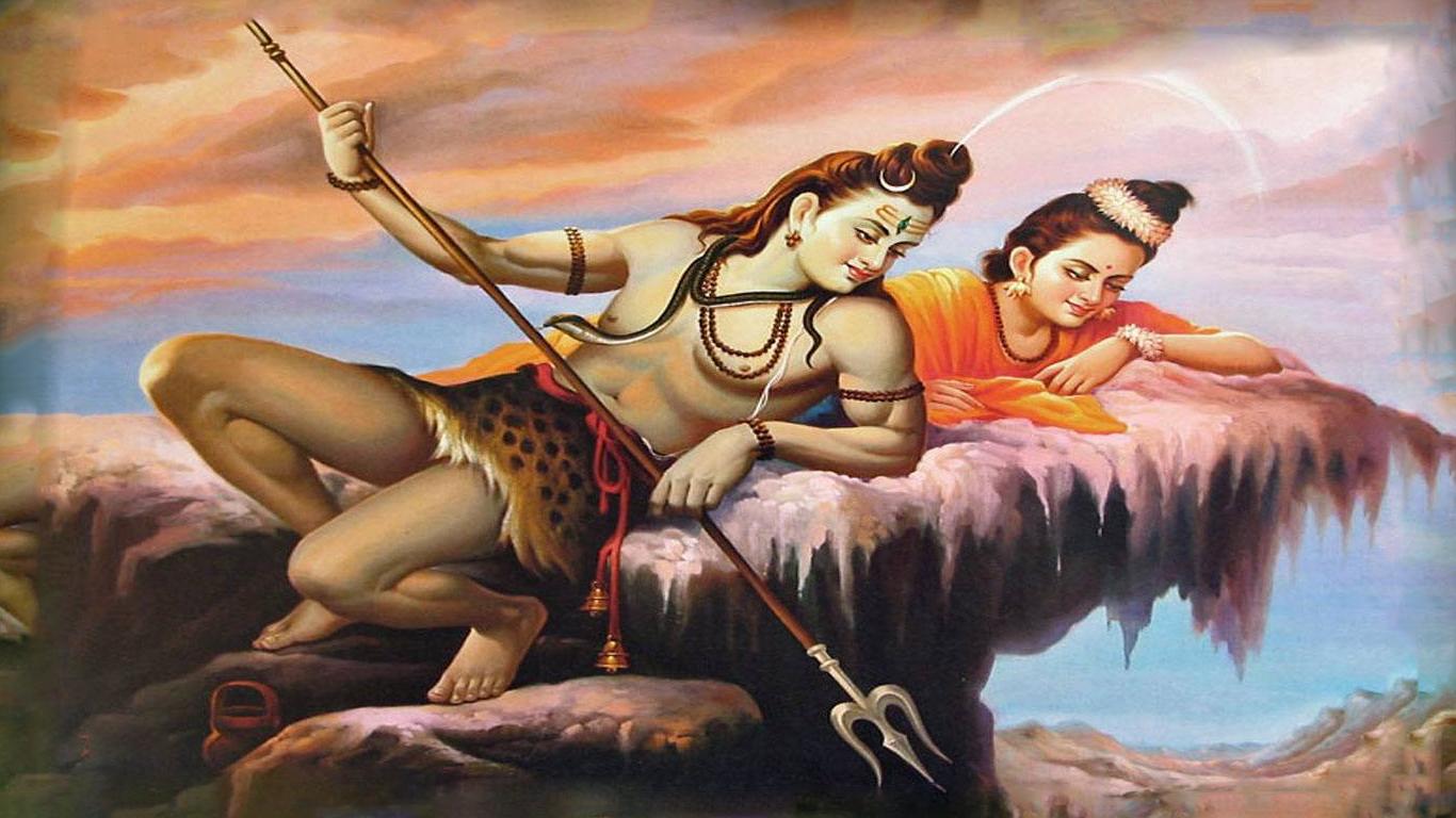 Maa Saraswati 3d Wallpaper 2013 Shiva Parvati Romantic Images Hindu Gods And Goddesses