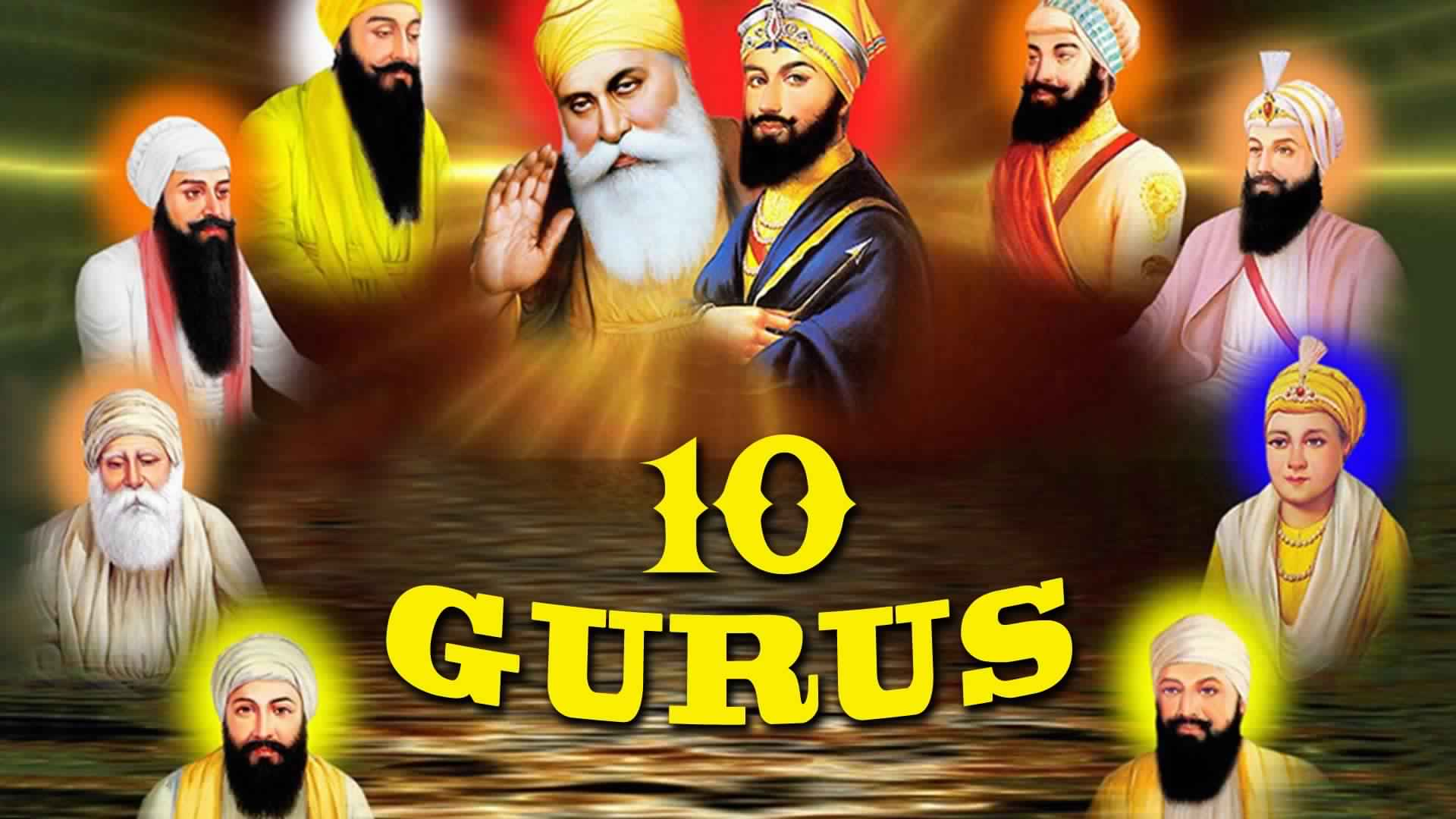 Sikh Wallpapers Hd For Iphone 5 10 Gurus Of Sikhism Wallpapers Hd 10 Sikh Gurus