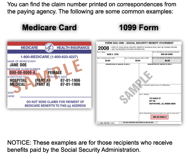Medicare Claim Form Example | Jobs In Us Embassy In Kuwait