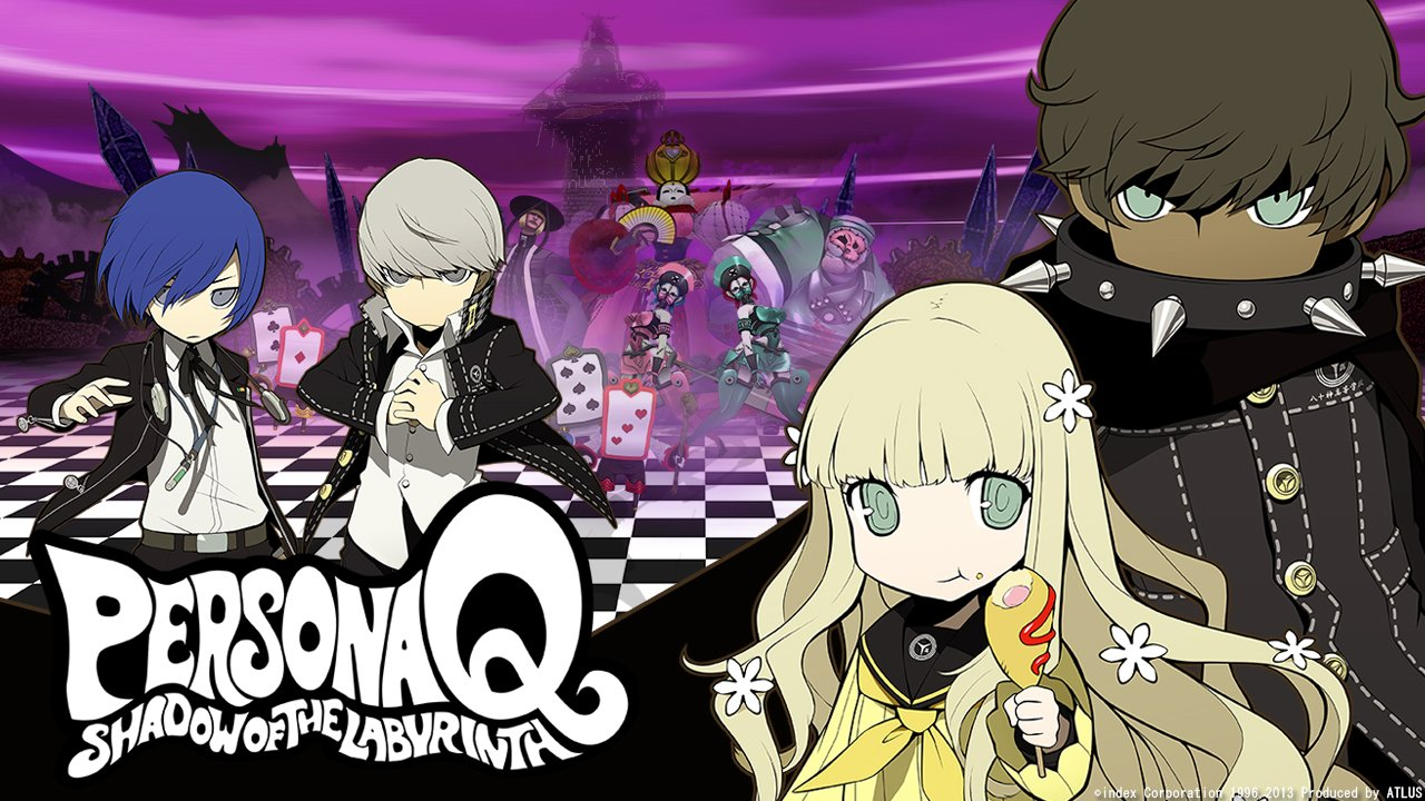 Persona 5 Girls Wallpaper Persona Q Shadow Of The Labyrinth Review