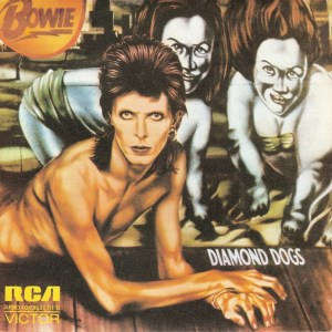 David Bowie Diamond Dogs LP