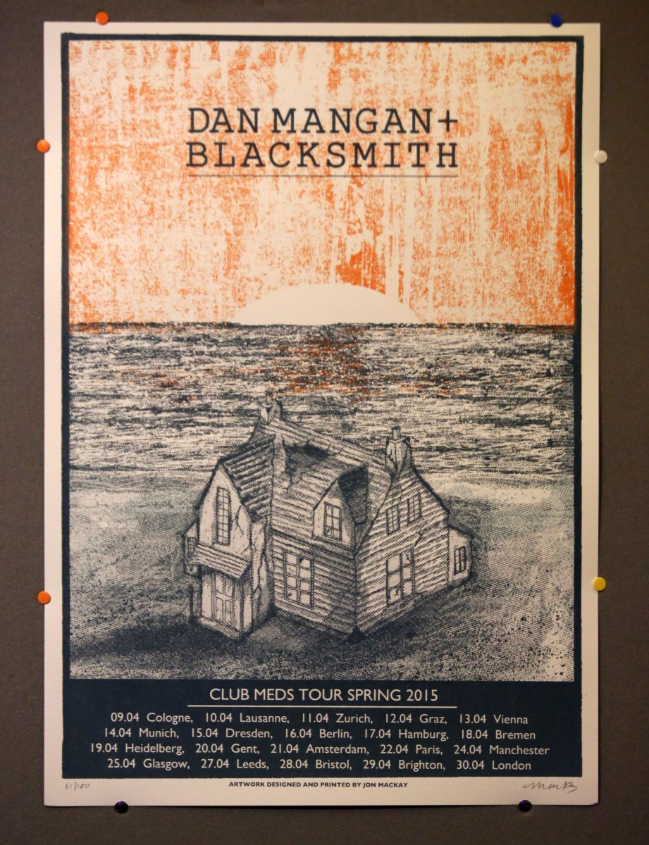 Dan Mangan + Blacksmith – Brudenell Social Club, Leeds, 27th April 2015