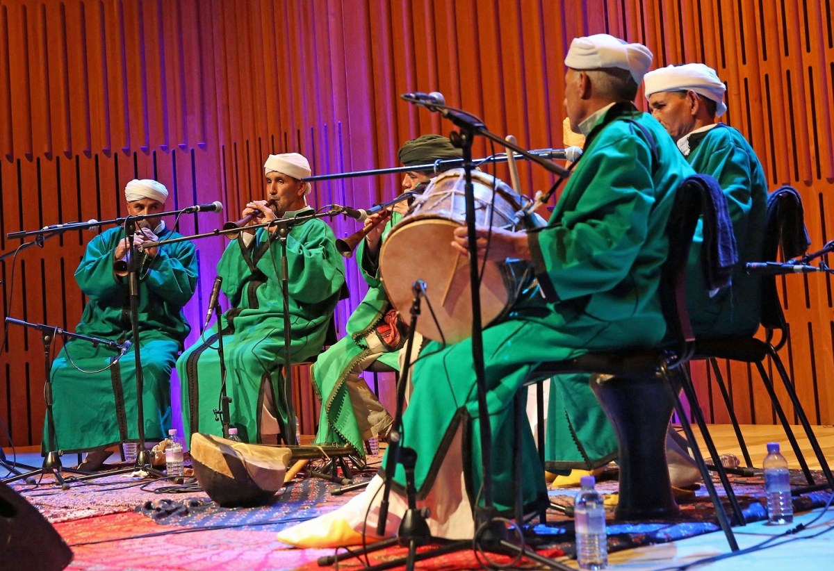 The Master Musicians of Jajouka – Howard Assembly Room, Leeds, 28/09/2016
