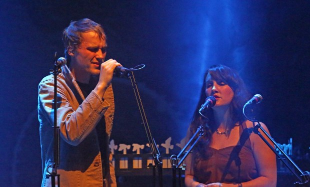 Adam Holmes and Becky Unthank