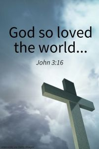 Good Friday - John3 16