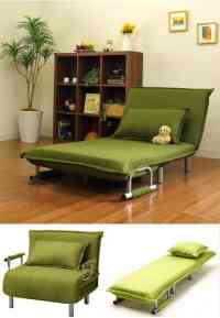Folding sofas, beds and chaise-lounges for small spaces