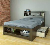 Space saving guest beds with storage (trundle beds)