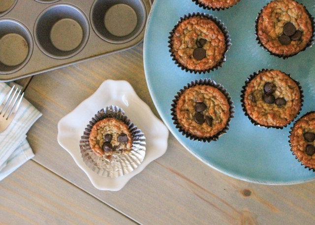 Skinny Greek Yogurt Banana Muffins