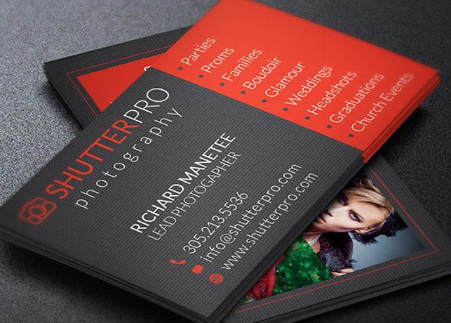 Photography Business Card Template Godserv Market