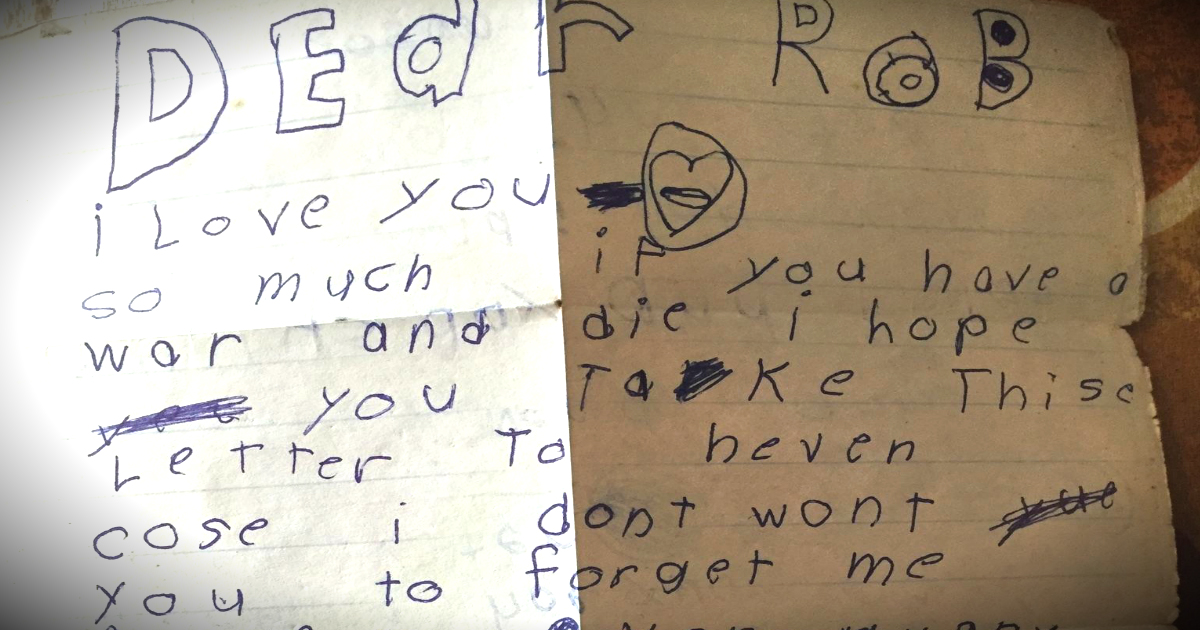Little Brother\u0027s Letter To Soldier Returned Last Day Of Training