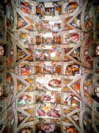 Michelangelo: Sistine Chapel Ceiling: Paintings and Pictures
