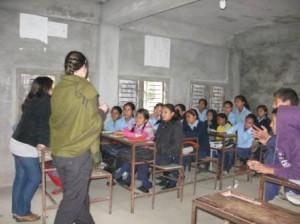 Teaching in secondary school