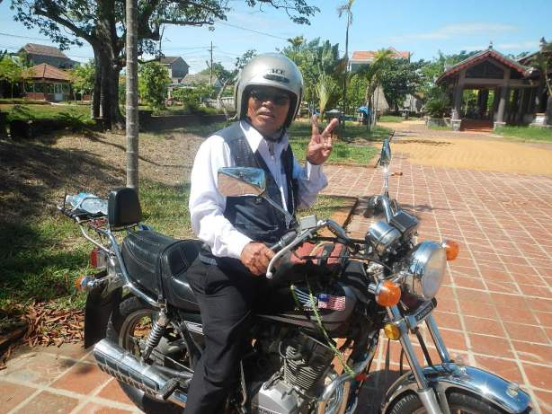 renting a motorcycle in Vietnam