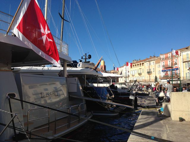 port of st tropez