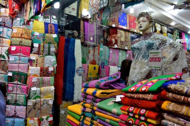 sari store in India