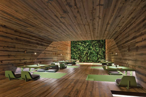 Indoor landscaping using nature in architecture goethe