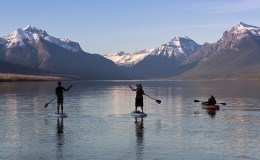 Lake McDonal Tandem Kayak and inflatable paddleboard Rental - Glacier Outfitters (2 of 2)