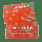 Visitekaartjes Slanker Amsterdam