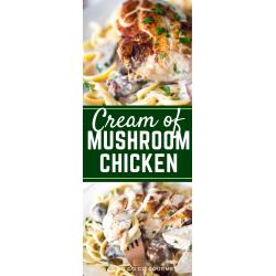 Small Crop Of Cream Of Mushroom Chicken