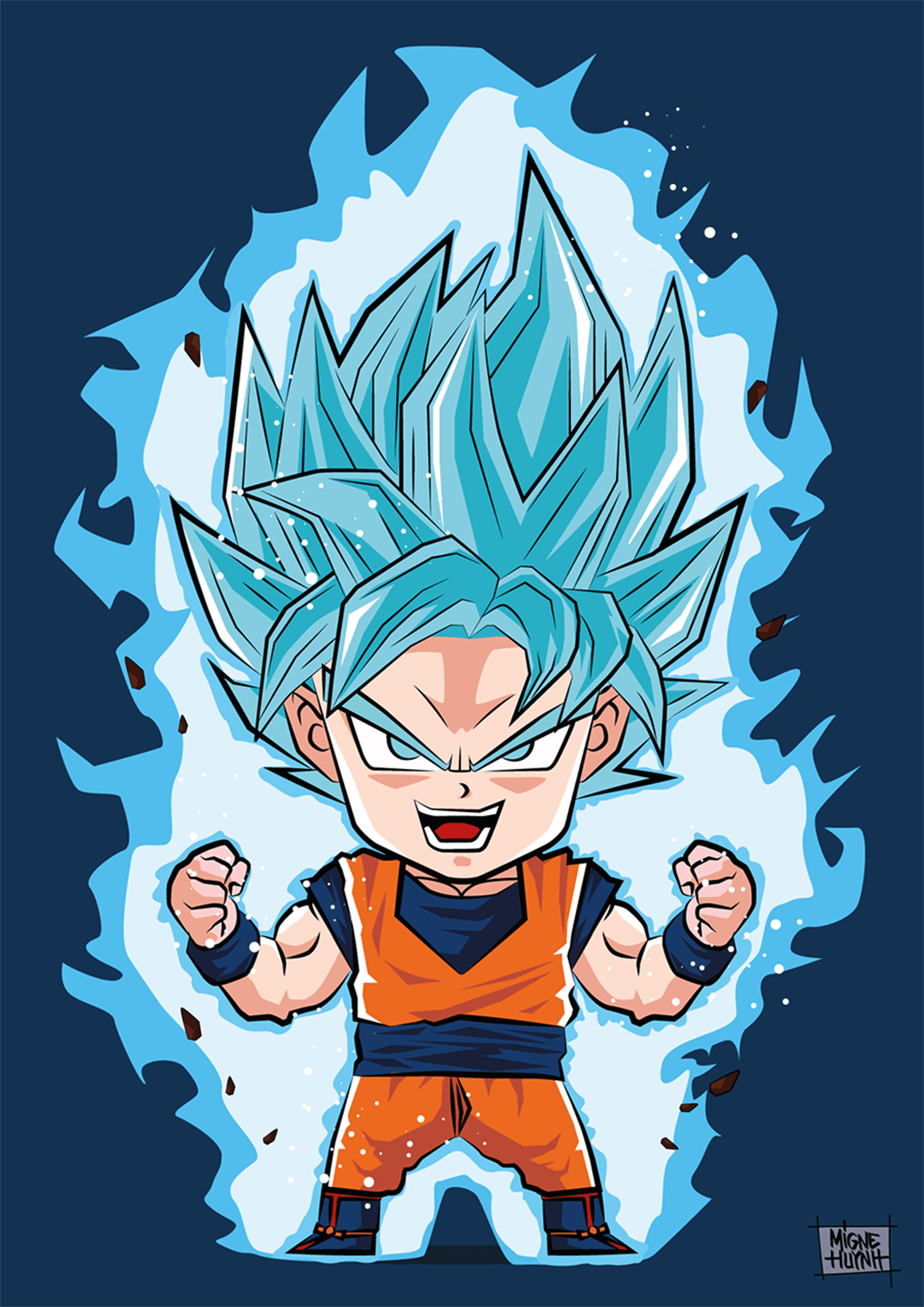 3d Wallpaper Of Dragon Ball Z A4 Goku Bleu 01 Blog Jeux Vid 233 O Cin 233 Ma Ps4 Xbox One