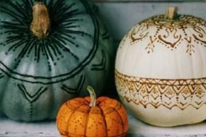 DIY No Carve Pumpkins