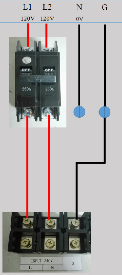 120v Single Phase Wiring Wiring Schematic Diagram