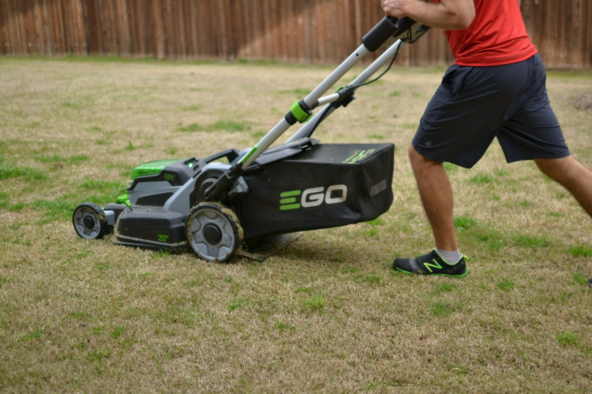 how to get mower going first go