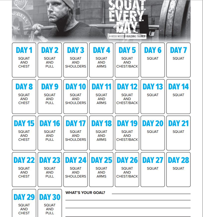 Calendar Making Program Calendar Maker Calendar Software A Calendar Maker Squat Every Day Routine An Open Garage Door Violation