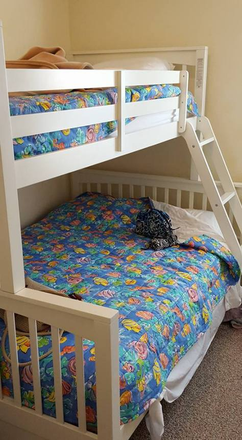 Bunk Bed in Outer Banks Beach House