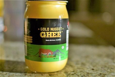 gold nugget ghee, healthy fat, cooking, review, bulletproof coffee
