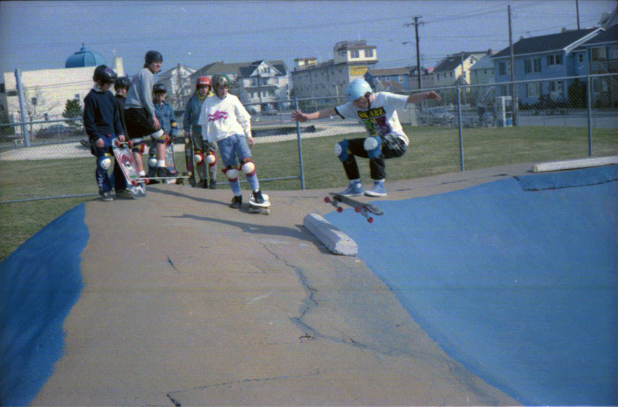 Kids at the Ocean Bowl.  I don't think this was a make.