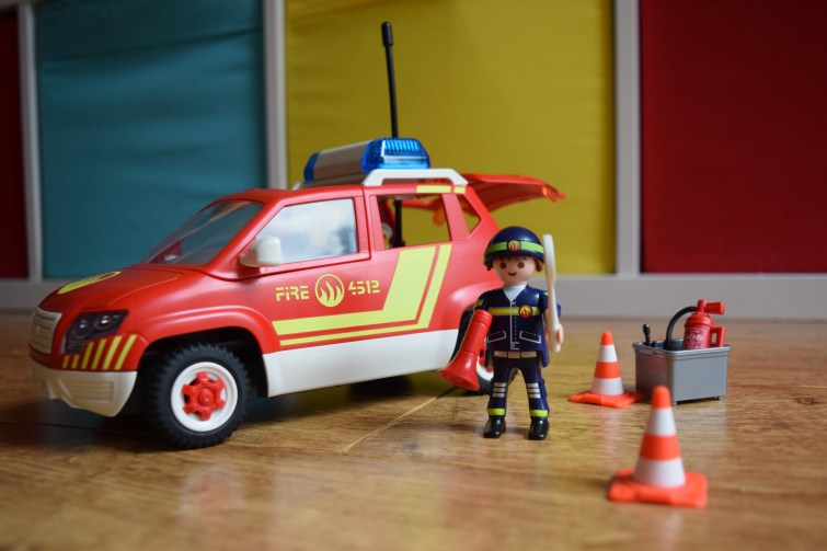 PLAYMOBIL Fire Chief playset