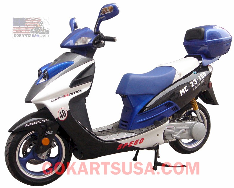Roketa MC-23 Aruba 150 Moped Scooter, FREE SHIPPING
