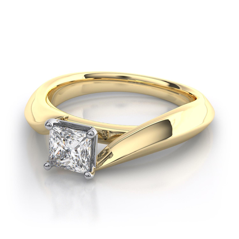 3 stone princess cut engagement rings princess cut wedding rings yellow gold princess cut engagement rings