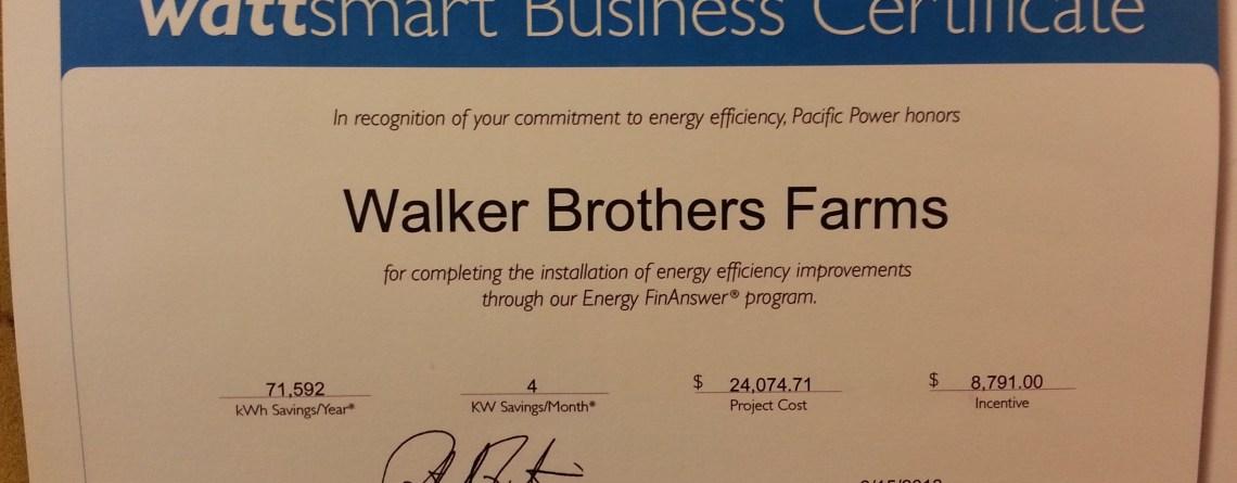 We're Wattsmart!