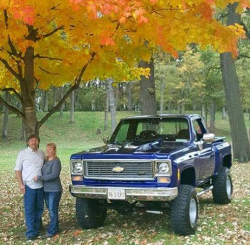 1976 Chevy K10 Built from Bones Gold Eagle Co