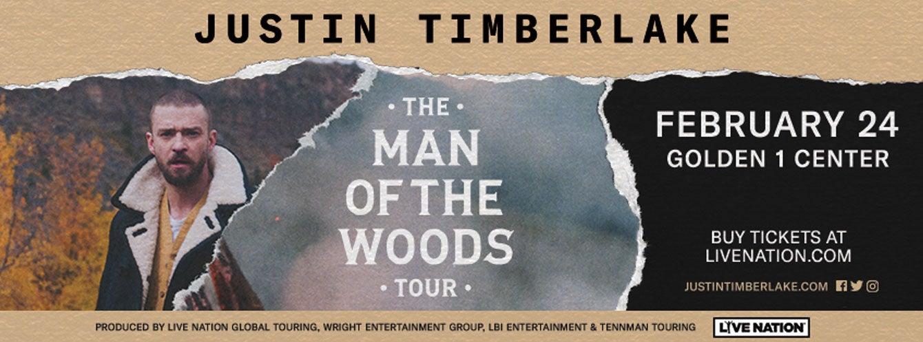 Justin Timberlake Golden1Center
