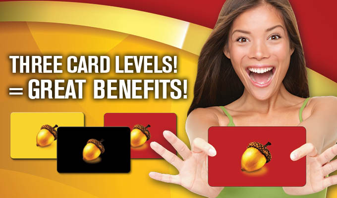 Club Benefits Cards!