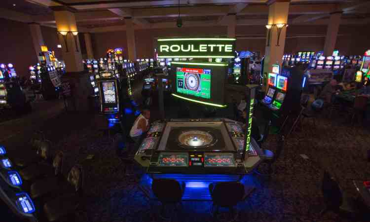 roulette at a casino